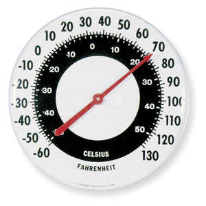 "Taylor 18"" Dial Wall Thermometer"