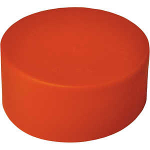 "AMS 2"" Diameter Plastic Liner End Caps, Pack of 50"