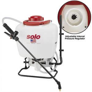 Solo Deluxe Backpack Sprayer Model 425 Deluxe Piston Pump, 4 Gal.