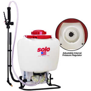 Solo Deluxe Backpack Sprayer Model 475 Deluxe Diaphragm Pump, 4 Gal.