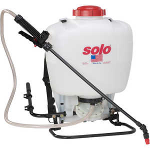 Model 475 Solo Backpack Sprayer Diaphragm Pump, 4 Gal.
