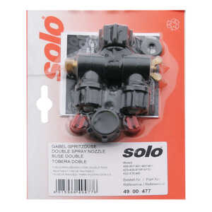 Solo Sprayers Twin Nozzle