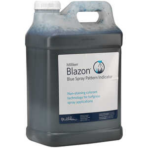 Blazon Blue Spray Pattern Indicator, 2.5 Gal.