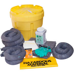 ENPAC 20-Gallon Universal Overpack Salvage Drum Spill Kit