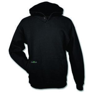 Arborwear Double-Thick Hooded Pullover Sweatshirt, Black, 4XL