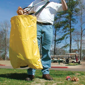 Litter Bag w/Strap, 4.45 cu. ft. Capacity