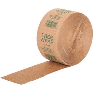 "Waterproof Paper Tree Wrap, 4""W x 150'L Roll"