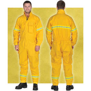 FireLine 9 oz. Ultra Soft Jumpsuit, Small, Tall Inseam