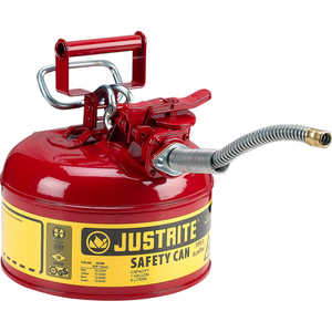 Justrite Type II AccuFlow Safety Can, One-Gallon