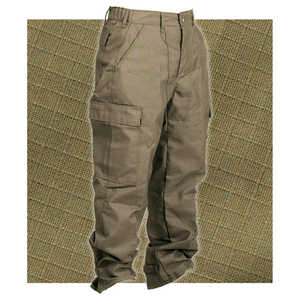 "Crew Boss 7 oz. Advance Brush Pants, 43""-46"" Waist, 32"" Inseam, Khaki"