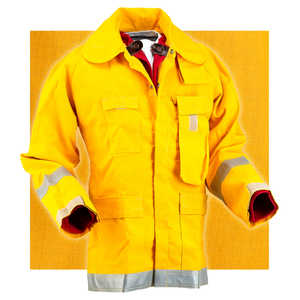XX-Large Crew Boss 7.5 oz. Nomex IIIA Brush Coat, 50-52 Chest