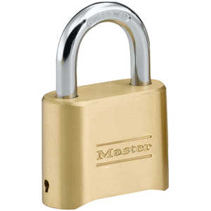 "Master Lock Combination Lock, 5/16"" x 1"" x 1"" Shackle"