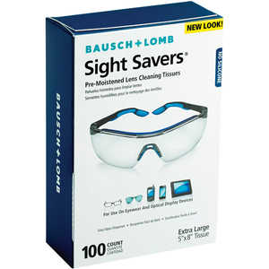 Bausch & Lomb Anti Fog Lens Cleaner, Box of 100