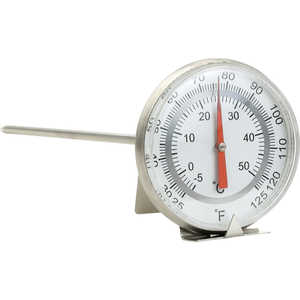 Combination Bi-Metal Dial Thermometer, Metric/English