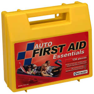 Auto First Aid Kit, 137 Pieces