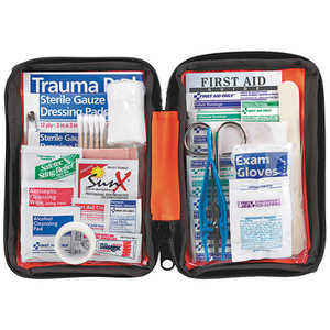 Outdoor First Aid Kit, 107 Pieces