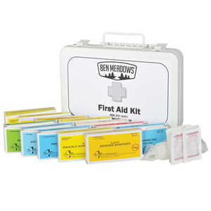 Ben Meadows 25-Person First Aid Kit