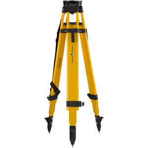 Forestry Suppliers Heavy-Duty Wood/Fiberglass 5/8˝ x 11 Dual-Clamp Tripod