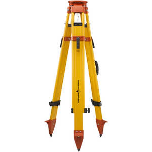Forestry Suppliers Heavy-Duty Wood/Fiberglass 5/8˝ x 11 Tripod with Dual Quick Clamps