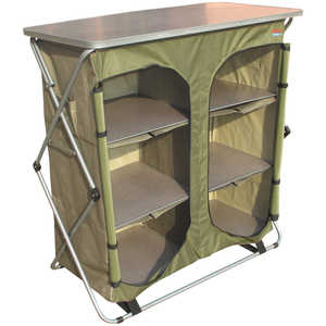 Bushtec Adventure Sierra Double Camp Cupboard