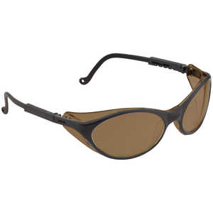 Uvex Bandit Safety Glasses, Espresso Lens