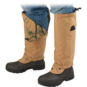 TurtleSkin SnakeArmor Snake Gaiters, Regular, Khaki/Camo