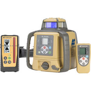 Topcon Dual-Slope Laser Level Model RL-SV2S w/Rechargeable Ni-MH Battery and LS-100D Laser Sensor