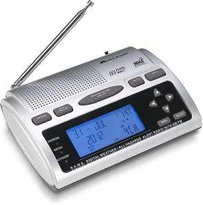 Midland S.A.M.E. Digital Weather/All-Hazards Alert Radio with AM/FM Model WR-300