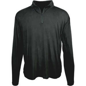 Arborwear 1/4 Zip Tech Pullover, Large, Black