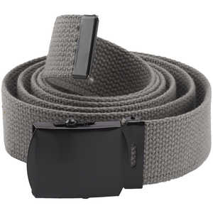 "Rothco Web Belt, 54"", Foliage Green with Black Buckle"