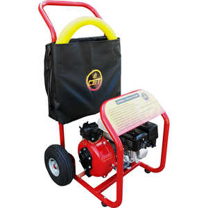 CET 6 HP Hand Truck Fire Pump