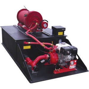 CET Forest Pack 200 Gallon Skid Unit Fire Pump