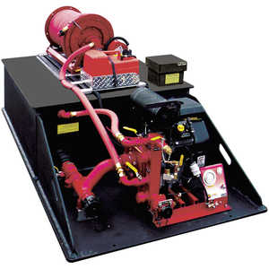 CET Attack Pack 200 Gallon Drop-In Skid Unit Fire Pump