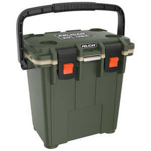 Pelican ProGear 20-Quart Elite Cooler, Olive Drab/Tan