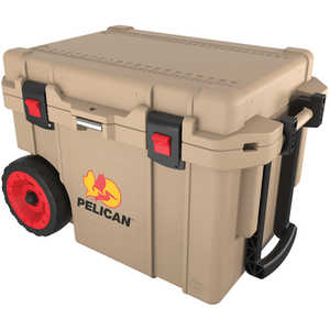 Pelican ProGear 45-Quart Elite Wheeled Cooler, Tan