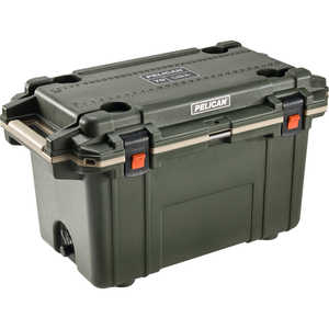 Pelican ProGear 70-Quart Cooler, Olive Drab/Tan Trim