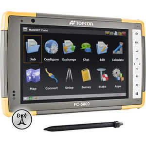 Topcon FC-5000 Field Computer with 4G LTE Cellular Modem