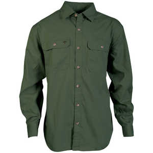 Arborwear Ground Long Sleeve Shirt, Moss, Small
