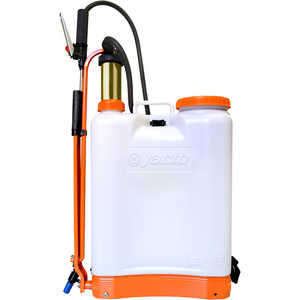 Jacto Model CD400 Backpack Sprayer, 4-Gallon, White Tank