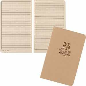 "Rite in the Rain Field-Flex Notebook, Universal, Tan, 4-5/8"" x 7-1/4"""