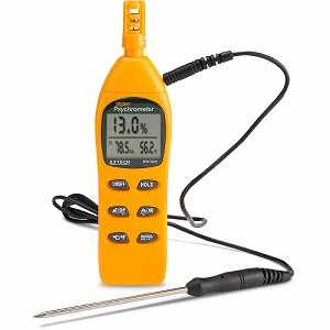Extech Digital Psychrometer Kit Model RH305
