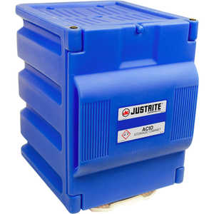 Justrite Countertop Polyethylene Corrosive Chemical Cabinet