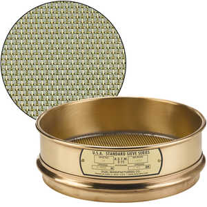 "No. 14; 1.40 mm/0.0555"" Dual Manufacturing Standard Testing Sieve"