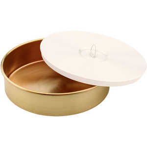 "Brass Pan, 8"" Diameter"