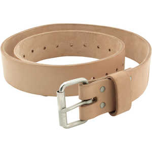 "Jim-Gem Quality Leather Belt, 30"" - 40"" Waist"