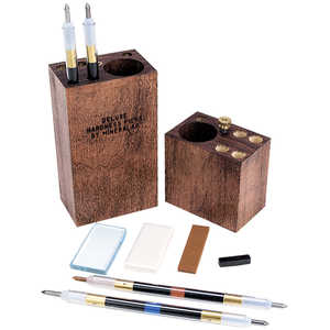 Mineralab Deluxe Hardness Pick Set & Mineral Identification Kit