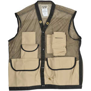 "Ben Meadows Mesh Field Vest, Medium, 44-46"", Tan"