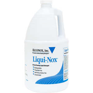 Liqui-Nox Liquid Detergent, One Gallon Jug