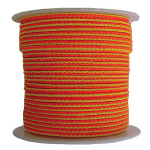 "Target Line Throw Line, 200'L x 1/8"" dia. Tensile strength of 250 lbs."
