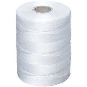 Chaining Buddy Polyester Photodegradable Replacement Thread, White, 2700 yd.